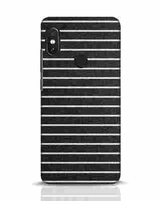Shop Textured Stripes Xiaomi Redmi Note 5 Pro Mobile Cover-Front