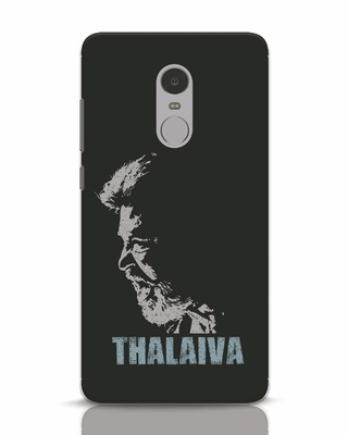 Shop Thalaiva Xiaomi Redmi Note 4 Mobile Cover-Front
