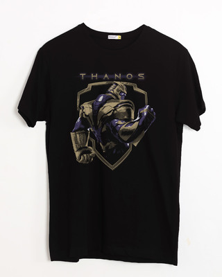 Shop Thanos Half Sleeve T-Shirt (AVEGL)-Front