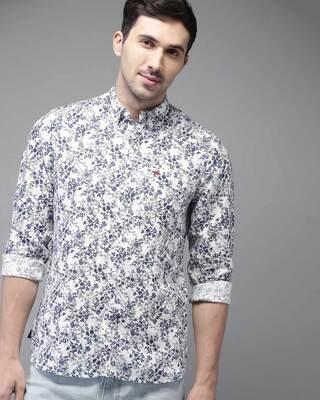 Shop The Bear House Cotton-Linen Button-Down Shirt-Front