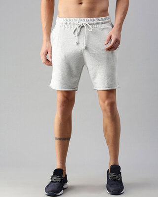 Shop The Bear House Men's Knitted Shorts-Front