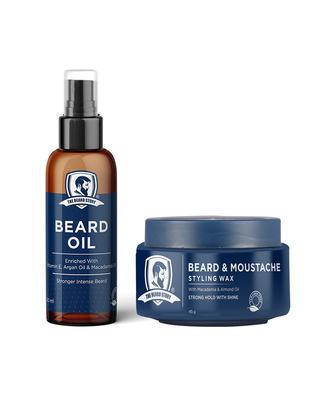 Shop The Beard Story Beard Styling Pack ( Beard oil & beard wax)-Front