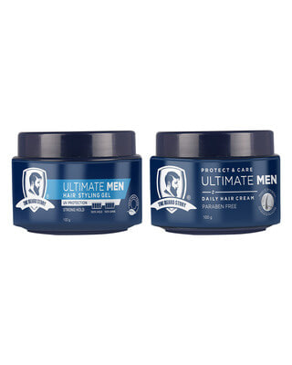 Shop The Beard Story Hair Styling Pack ( hair cream & styling gel )-Front