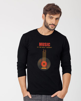 Shop The Best Therapy Full Sleeve T-Shirt-Front