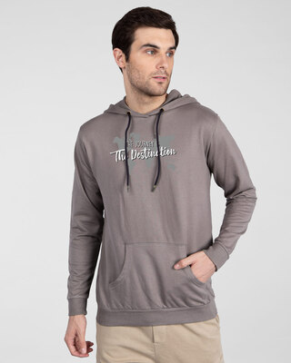Shop The Destination Fleece Hoodie-Front