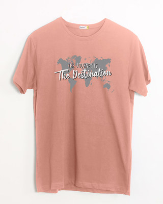 Shop The Destination Half Sleeve T-Shirt-Front