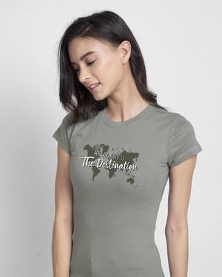 Shop The Destination Half Sleeve T-Shirt-Front