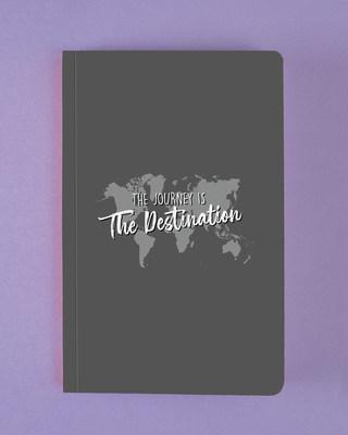Shop The Destination Map Notebook-Front