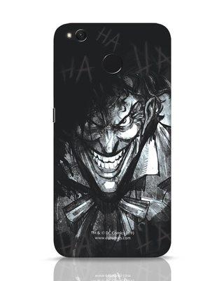 Shop The Joker Laugh Xiaomi Redmi 4 Mobile Cover (BML)-Front
