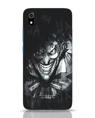 Shop The Joker Laugh Xiaomi Redmi 7A Mobile Cover (BML)-Front