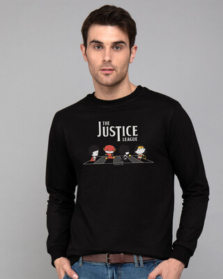 Shop The Justice League Road Fleece Sweaters (DCL)-Front