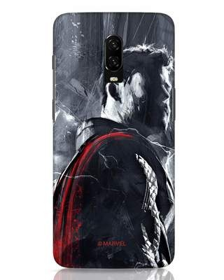 Shop The Mighty Thor OnePlus 6T Mobile Cover (AVL)-Front