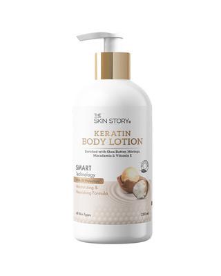 Shop The Skin Story Keratin Body Lotion, SMART Technology, UV Protection, 280 ml-Front