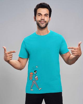 Shop The traveller Half Sleeve T-shirt-Front