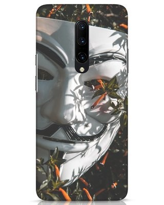 Shop The White Mask OnePlus 7 Pro Mobile Cover-Front