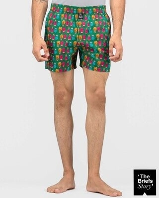 Shop Thebriefsstory ROCK & ROLL-BOXER-M-Front