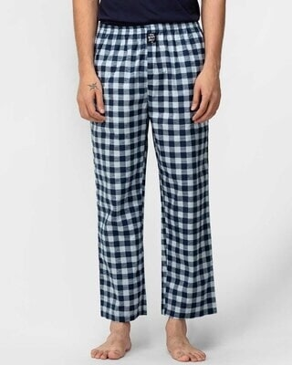 Shop Thebriefstory Checkered Print Pyjama-Front