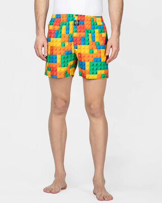 Shop Thebriefstory Toy Print Boxer-Front