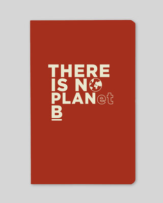 Shop There Is No Planet B Notebook-Front