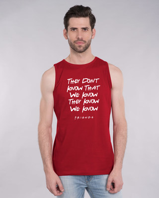 Shop They Don't Know Friends Vest (FRL)-Front