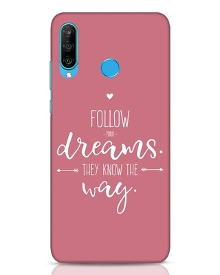 Shop They Know The Way Huawei P30 Lite Mobile Cover-Front