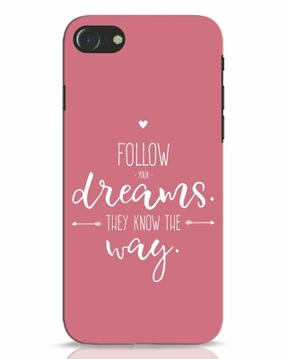 Shop They Know The Way iPhone 7 Mobile Cover-Front