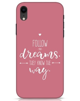 Shop They Know The Way iPhone XR Mobile Cover-Front
