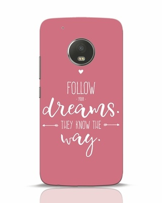 Shop They Know The Way Moto G5 Plus Mobile Cover-Front