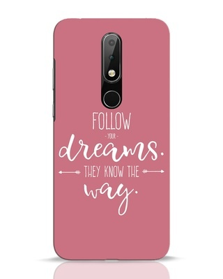 Shop They Know The Way Nokia 6.1 Plus Mobile Cover-Front