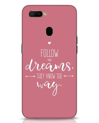 Shop They Know The Way Oppo A5s Mobile Cover-Front