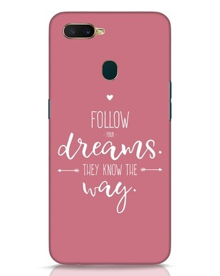 Shop They Know The Way Oppo A7 Mobile Cover-Front