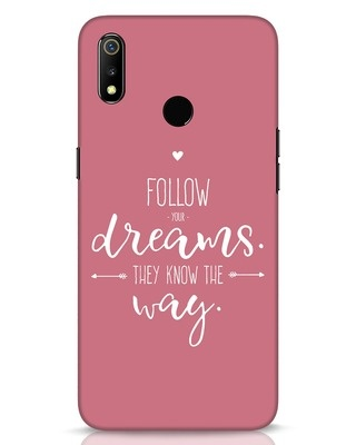 Shop They Know The Way Realme 3 Mobile Cover-Front