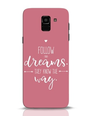 Shop They Know The Way Samsung Galaxy J6 Mobile Cover-Front
