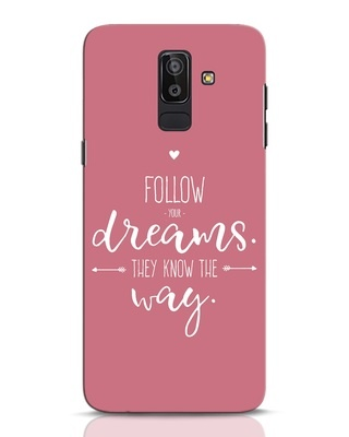 Shop They Know The Way Samsung Galaxy J8 Mobile Cover-Front