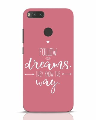Shop They Know The Way Xiaomi Mi A1 Mobile Cover-Front