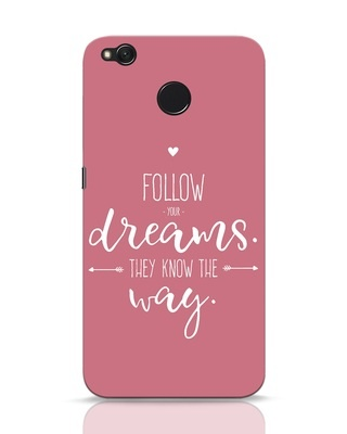 Shop They Know The Way Xiaomi Redmi 4 Mobile Cover-Front