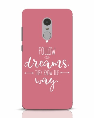 Shop They Know The Way Xiaomi Redmi Note 4 Mobile Cover-Front