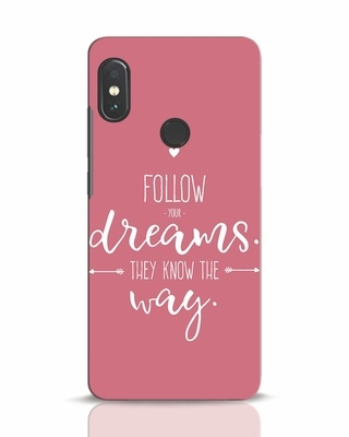 Shop They Know The Way Xiaomi Redmi Note 5 Pro Mobile Cover-Front