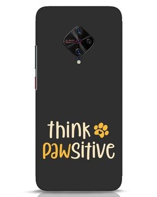 Shop Think Pawsitive Vivo S1 Pro Mobile Cover-Front