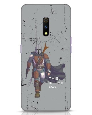 Shop This Is The Way Realme X Mobile Cover-Front