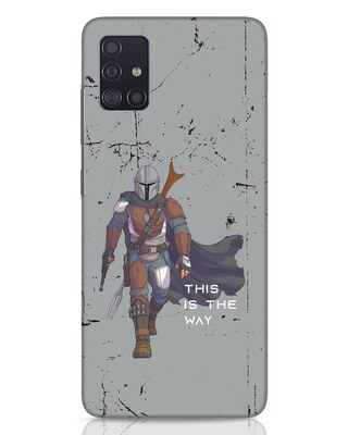 Shop This Is The Way Samsung Galaxy A51 Mobile Cover-Front