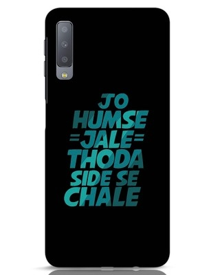 Shop Thoda Side Se Chale Samsung Galaxy A7 Mobile Cover-Front