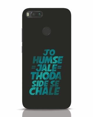 Shop Thoda Side Se Chale Xiaomi Mi A1 Mobile Cover-Front
