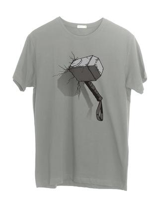 Shop Thor Hammer Half Sleeve T-Shirt (AVL)-Front