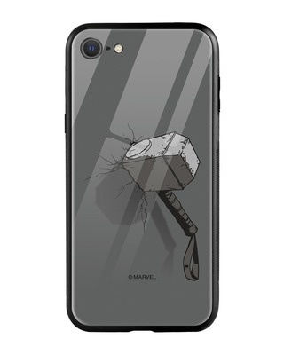 Shop Thor Hammer iPhone SE 2020 Mobile Cover (AVL)-Front
