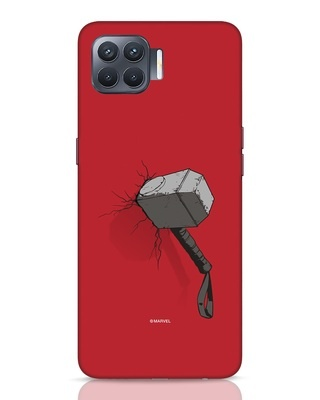 Shop Thor Hammer Oppo F17 Pro Mobile Cover-Front