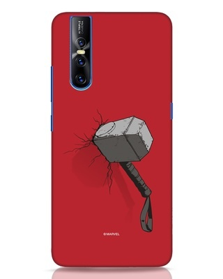 Shop Thor Hammer Vivo V15 Pro Mobile Cover-Front