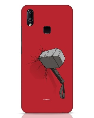 Shop Thor Hammer Vivo Y91 Mobile Cover-Front