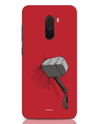 Shop Thor Hammer Xiaomi POCO F1 Mobile Cover-Front