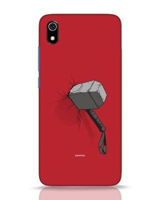 Shop Thor Hammer Xiaomi Redmi 7A Mobile Cover-Front